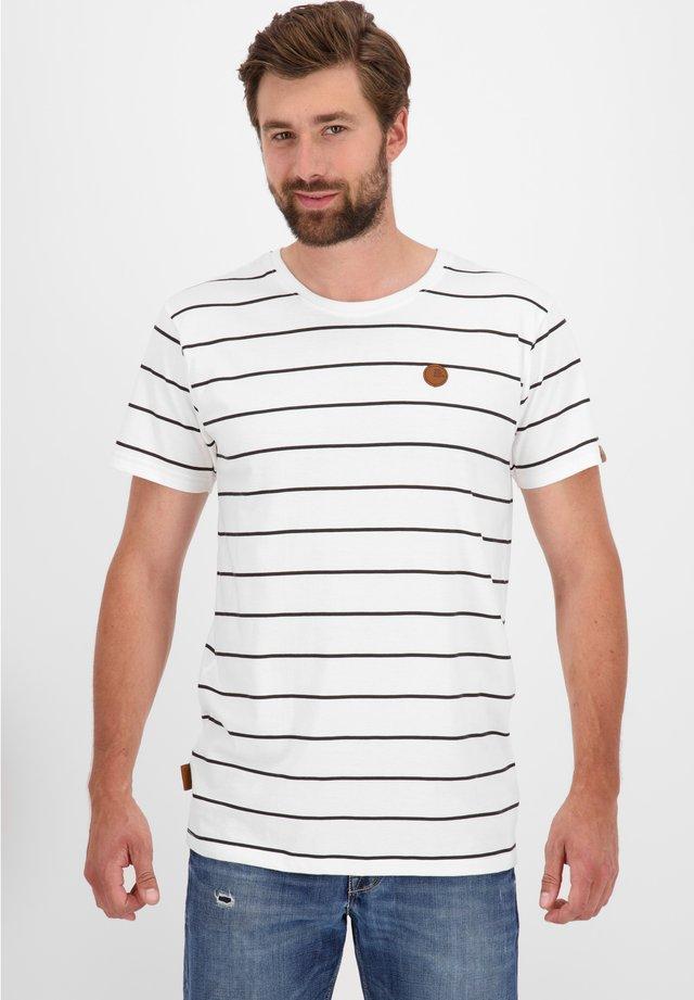 NICAK  - T-shirt imprimé - pearl
