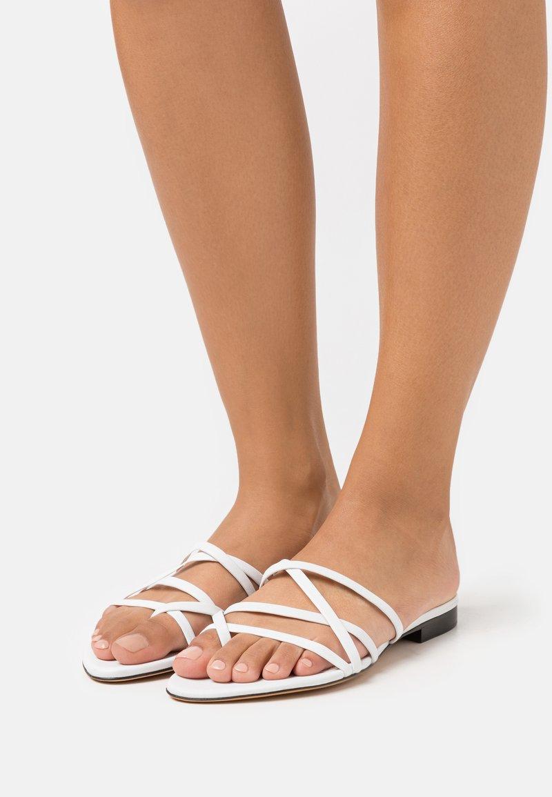 Iro - LEV - T-bar sandals - white
