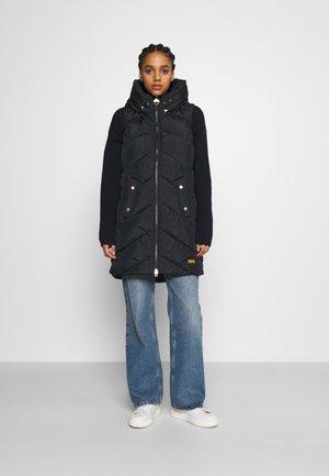ABERDARE GILET - Waistcoat - black