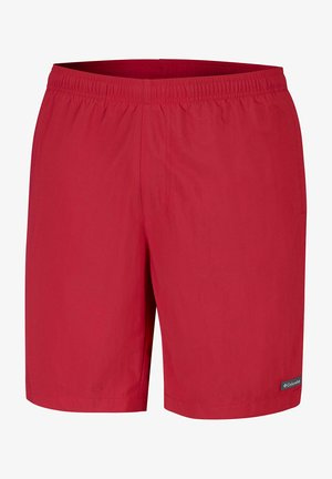 Swimming shorts - mountain red