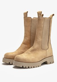Inuovo - Platform ankle boots - light brown - 2