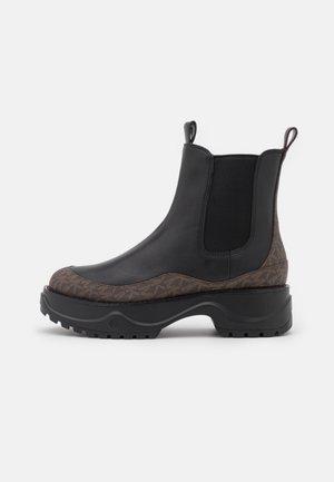 DUPREE BOOTIE - Platform ankle boots - black