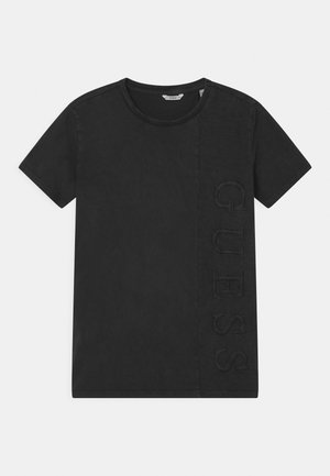JUNIOR DYE  - Print T-shirt - jet black