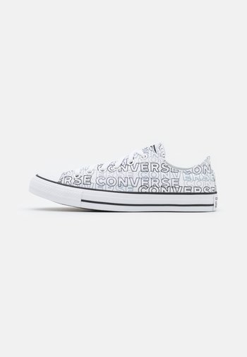 CHUCK TAYLOR ALL STAR WORDMARK GRAPHIC UNISEX - High-top trainers - white/black