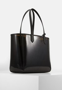 KARL LAGERFELD - JOURNEY TRANSPARENT TOTE - Handbag - black - 2