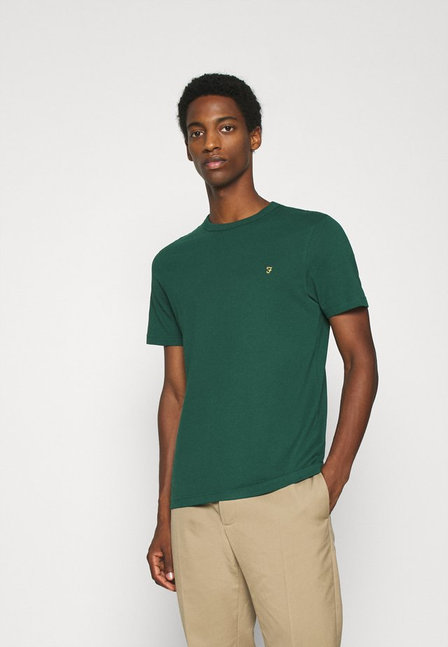 DANNY TEE - Basic T-shirt - emerald green