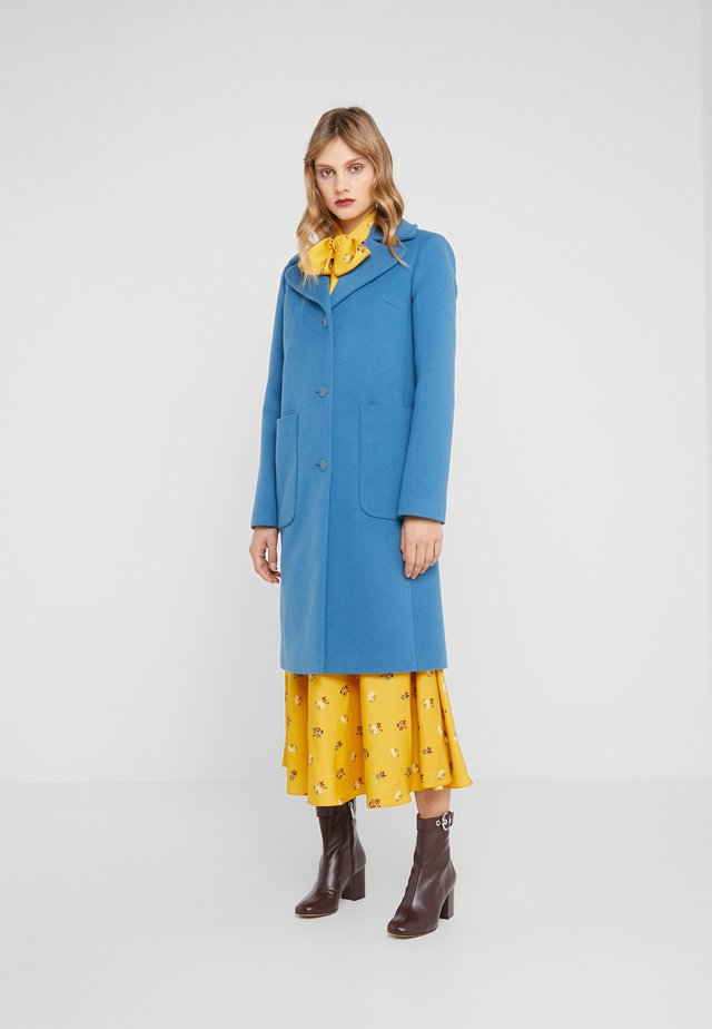 CLAIRE - Classic coat - medium blue