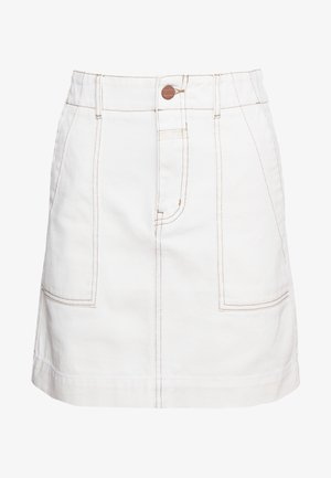 SELBY - Mini skirt - ivory