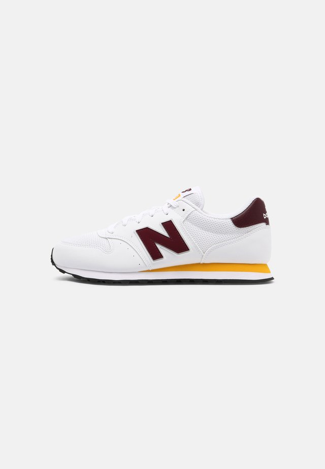 500 - Sneakers basse - burgundy/team-gold/munsell white/black