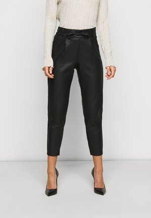 ONLPOPTRASH EASY PANT - Trousers - black