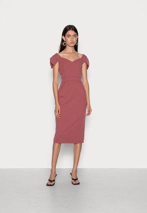 ANNIE MIDI DRESS - Cocktail dress / Party dress - dusty rose pink