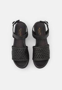 Minelli - Korkeakorkoiset sandaalit - noir - 5