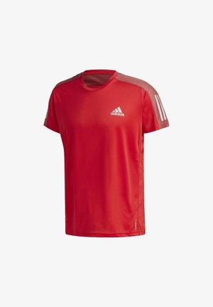 OWN THE RUN T-SHIRT - T-shirt imprimé - red