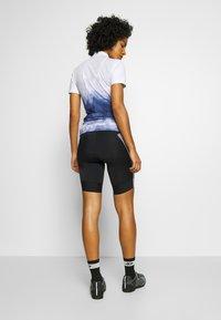 Gore Wear - DAMEN LINE KURZ - Tights - black/white - 2