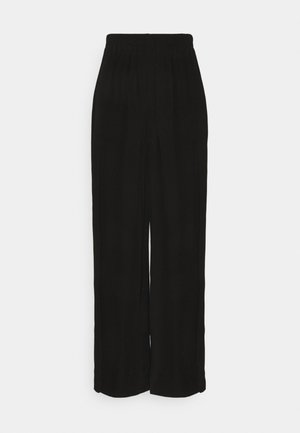 GEDIONE TROUSERS - Bukser - black