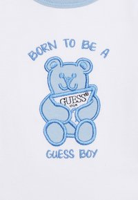 Guess - BODY AND PANTS BABY SET - Body - white/blue combo - 4
