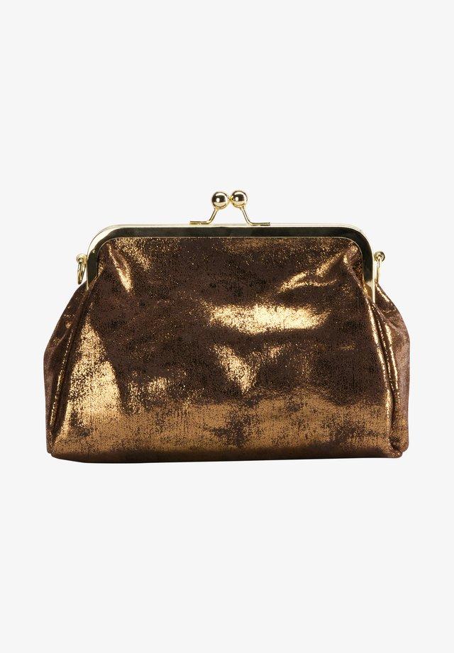 Clutch - vintage gold