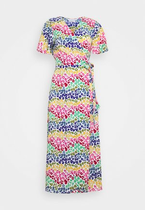 LUCIA RAINBOW WRAP DRESS - Vestito lungo - multi