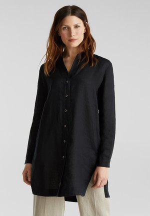 SPRING - Button-down blouse - black