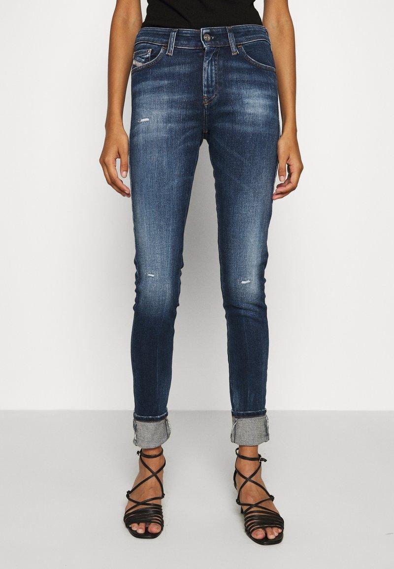 Diesel - SLANDY - Jeans Skinny Fit - indigo