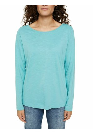 BOAT - Long sleeved top - turquoise