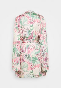 Simply Be - PRETTY SECRETS DRAMATIC SLEEVE ROBE - Dressing gown - pink - 1