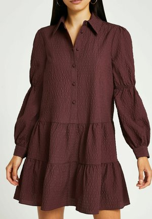 Vestido camisero - red