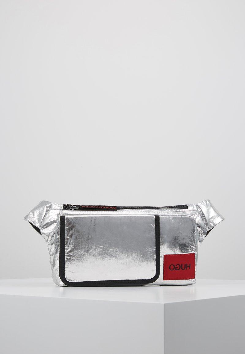 HUGO - KOMBINAT BUMBAG - Bum bag - silver