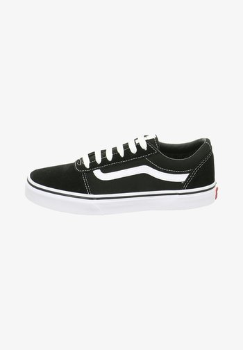 Sneakers laag - blackwhite