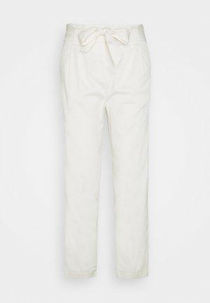 PAPERBAG PANTS - Pantaloni - ice
