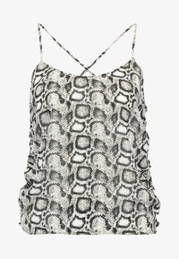 THE RUCHED CAMI - Top - beige