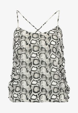 THE RUCHED CAMI - Topper - beige