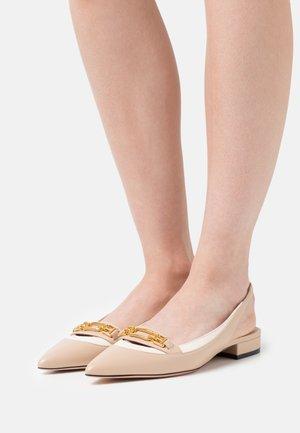 DIANET FLAT - Slingback ballet pumps - corda