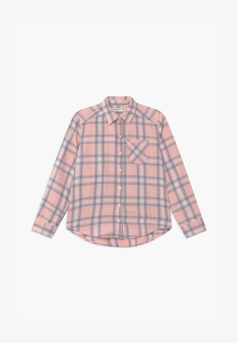 Abercrombie & Fitch - Button-down blouse - pink plaid
