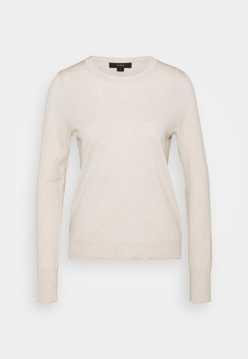 J.CREW - MARGOT CREWNECK - Jumper - flax