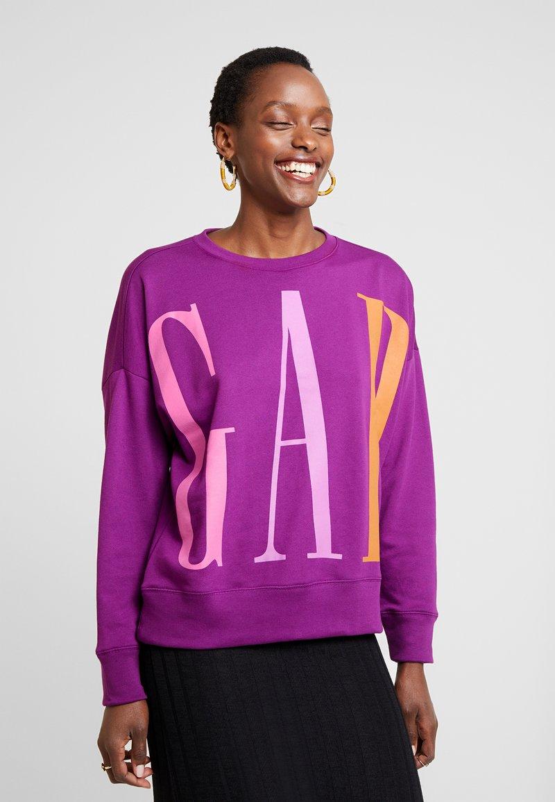 GAP - EXPLODED - Sweatshirt - purple wine