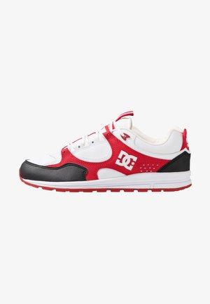 KALIS LITE - Skate shoes - black/white/red
