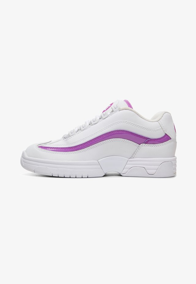Trainers - white/purple