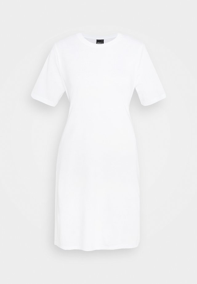 MELINDA DRESS - Jerseyjurk - white