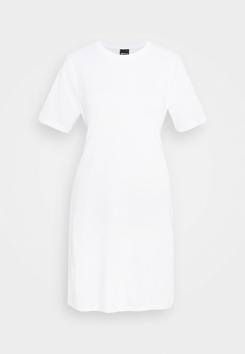 Gina Tricot - MELINDA DRESS - Jersey dress - white