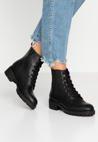 Anna Field - Bottines à lacets - black - 0