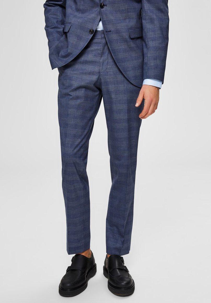 Homme Pantalon de costume - blue