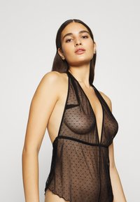 Ann Summers - THE CHARMED SEWN UP TEDDY - Body - black