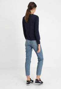 GANT - ARCH LOGO - Long sleeved top - evening blue - 2