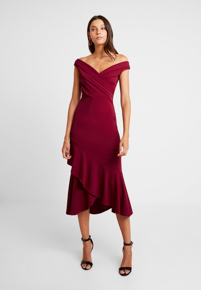 MARCY - Maxi dress - berry