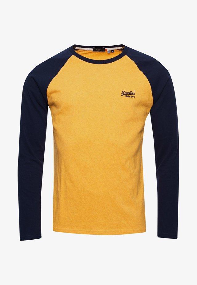 T-shirt à manches longues - upstate gold marl