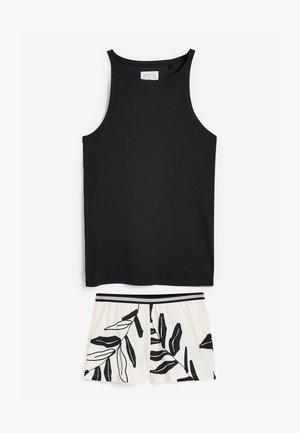 Pyjama set - black/white