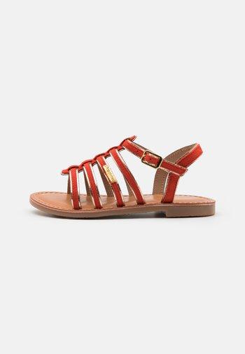 MONBUCK - Sandals - corail