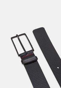 HUGO - GOLIA - Formální pásek - black - 2