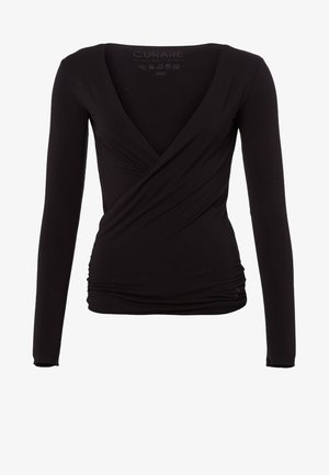 WRAP - Sweater - black